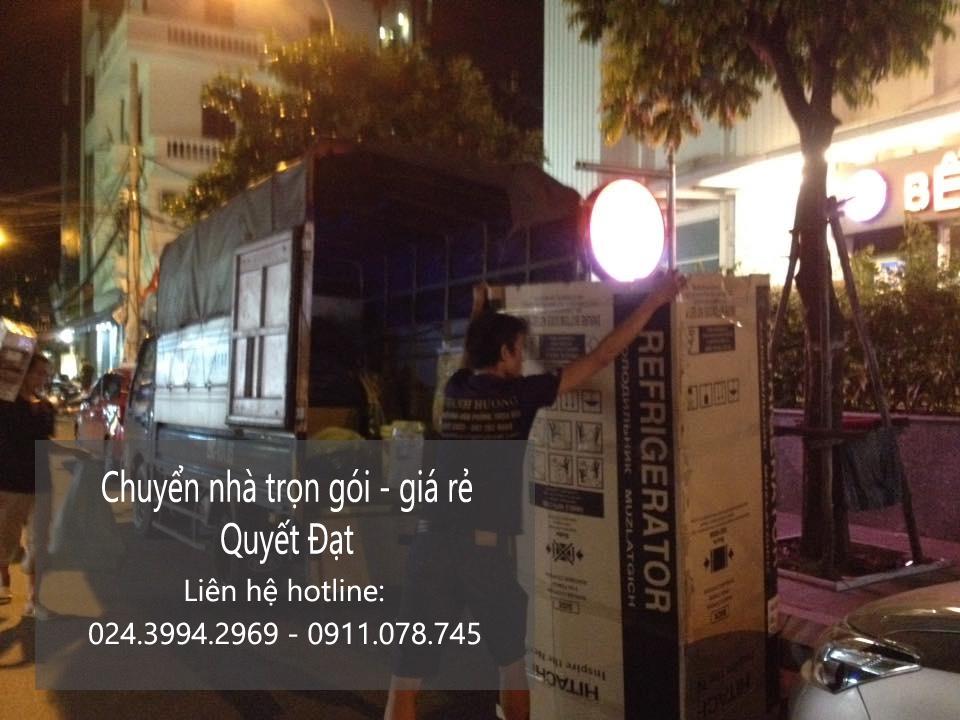 Chuyển nhà - chuyển văn phòng tại phố Nguyễn Lương Bằng