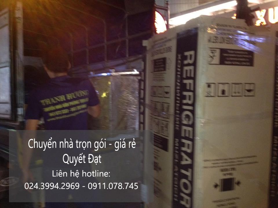 Dịch vụ chuyển nhà trọn gói tại phố Mạc Thái Tổ