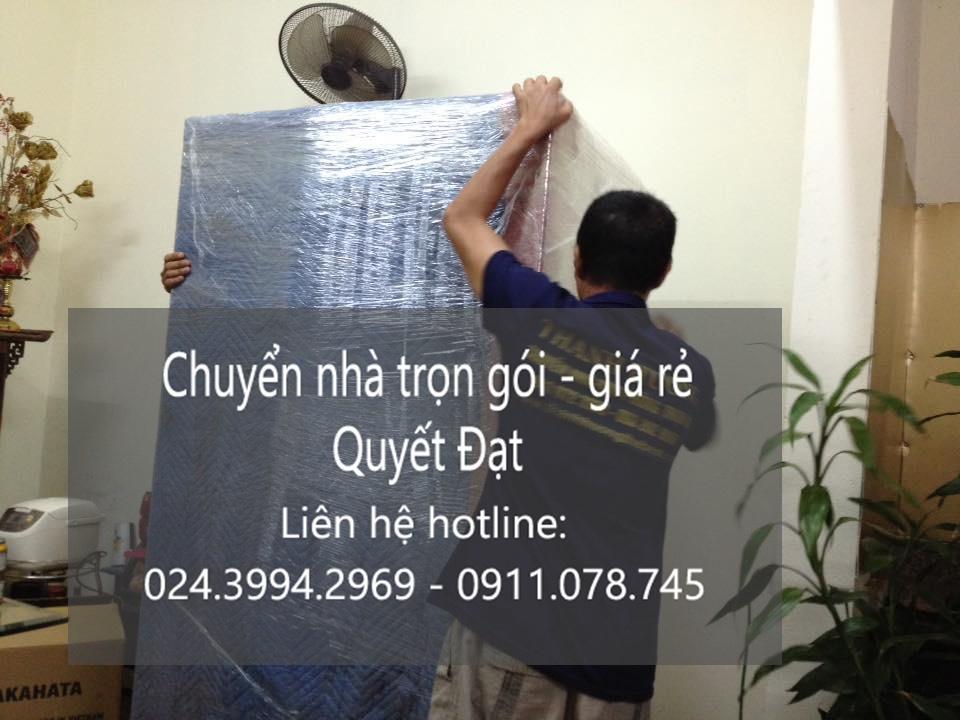 Dịch vụ chuyển nhà trọn gói Quyết Đạt tại phố Nguyễn Huy Tự