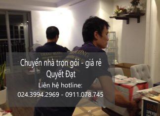 Chuyển nhà trọn gói Quyết Đạt tại phố Đặng Thai Mai
