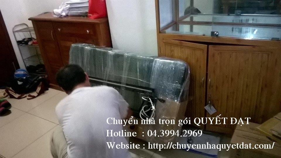 Chuyển nhà trọn gói Quyết Đạt tại phố Khâm Thiên