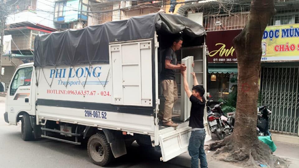 Dịch vụ chuyển nhà trọn gói Quyết Đạt tại phố Vũ Hữu 2019