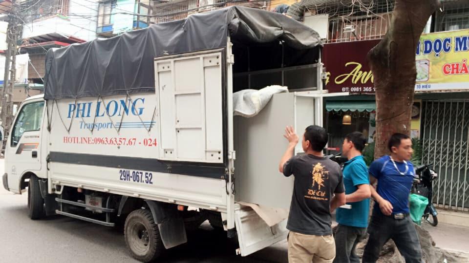 Chuyển nhà trọn gói Quyết Đạt tại phố Trần Cao Vân