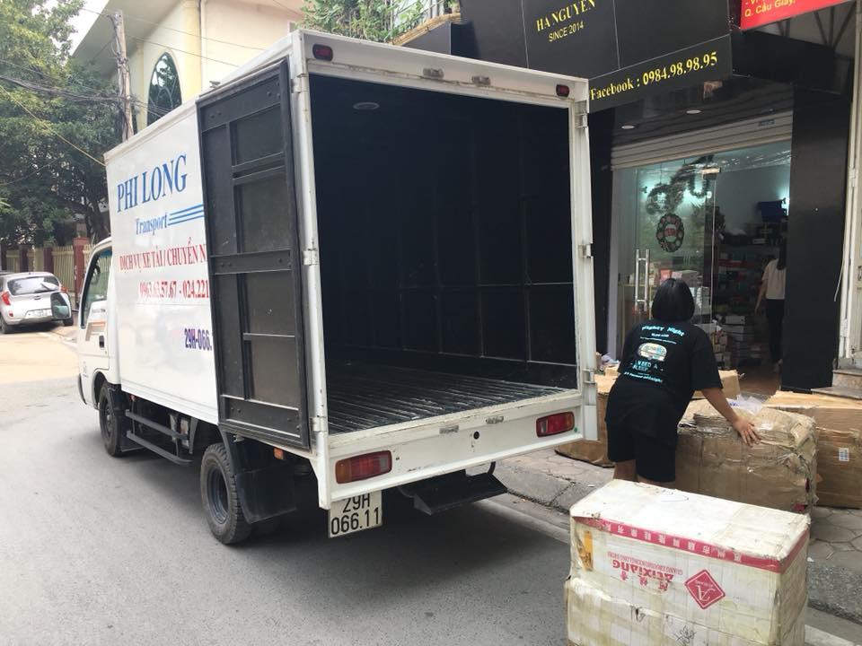 Dịch vụ chuyển nhà trọn gói tại phố Vũ Tông Phan