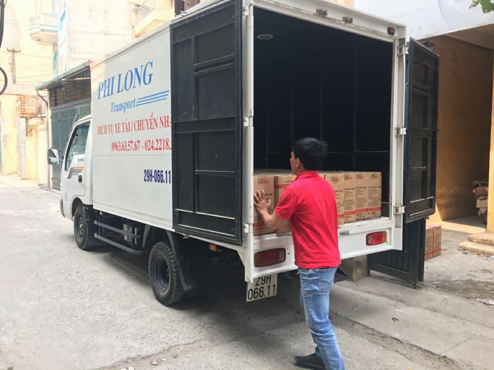 Chuyển nhà trọn gói Quyết Đạt tại phố Nguyễn Siêu