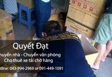 Dịch vụ chuyển nhà trọn gói tại quận Đống Đa