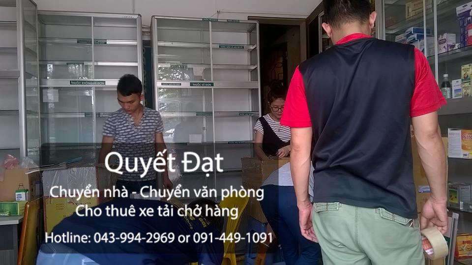 Chuyển nhà trọn gói Quyết Đạt tại phố Phạm Hồng Thái
