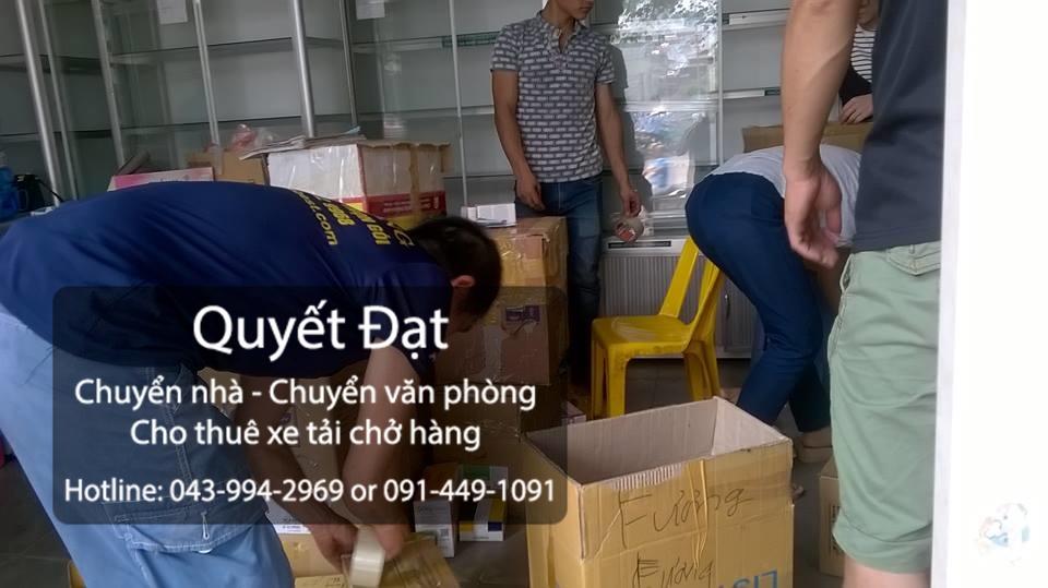 Dịch vụ chuyển nhà trọn gói Quyết Đạt tại quận Thanh Xuân