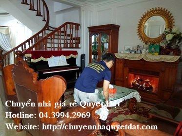 Chuyển nhà trọn gói giá rẻ tại phố Quảng Khánh