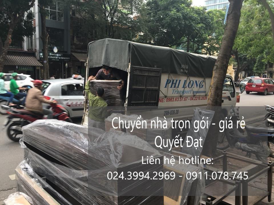 Chuyển nhà tại phố Hồng Tiến