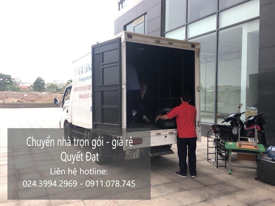 Dịch vụ chuyển nhà trọn gói tại phố Hạ Yên 2019