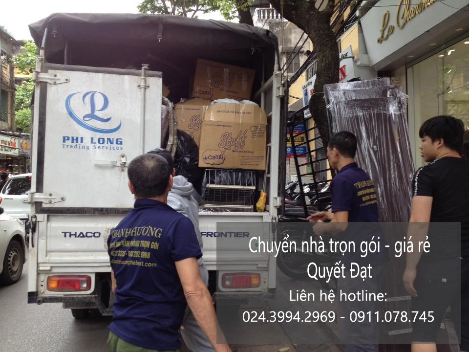 Dịch vụ chuyển nhà trọn gói Quyết Đạt tại phố Đỗ Đình Thiện