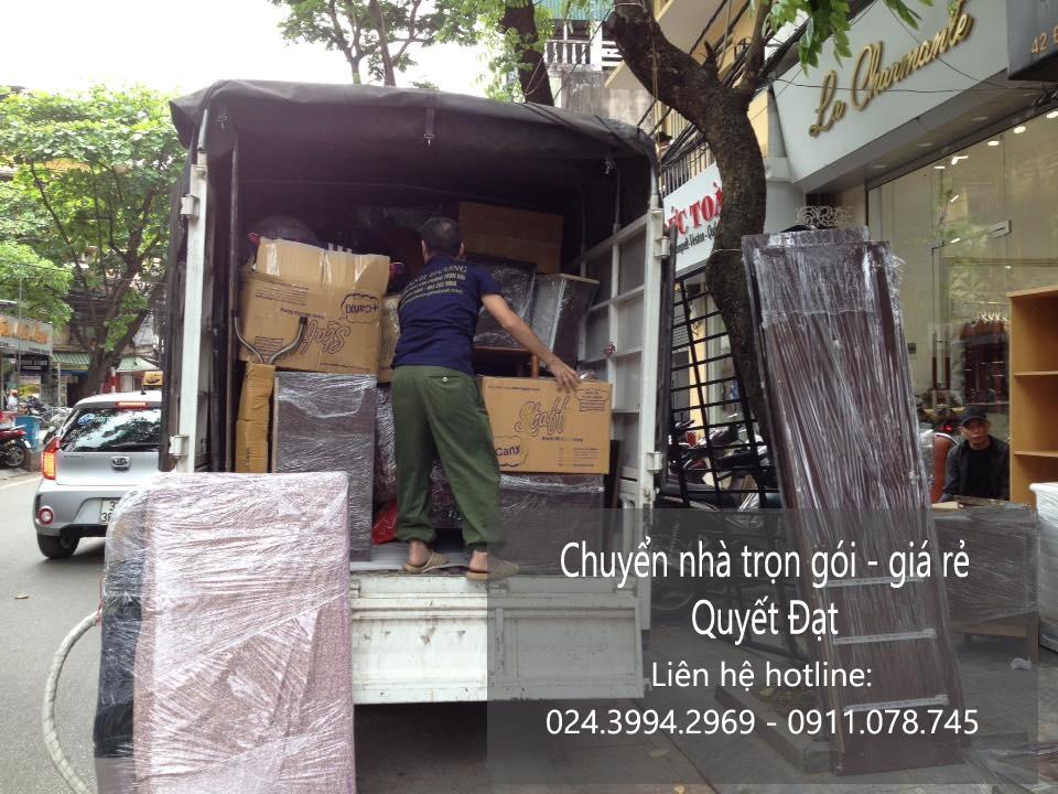 Dịch vụ chuyển nhà trọn gói tại phố Quỳnh Mai