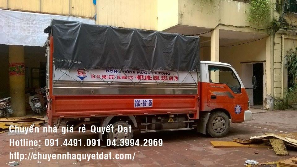 Dịch vụ chuyển nhà trọn gói tại phố Hoàng Sâm