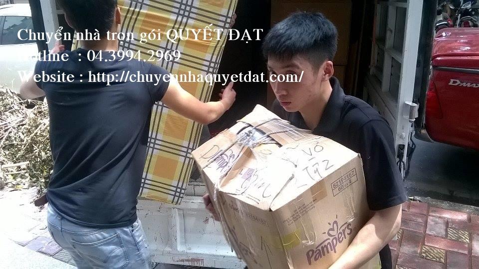 Dịch vụ chuyển nhà trọn gói Quyết Đạt tại phố Nghĩa Tân