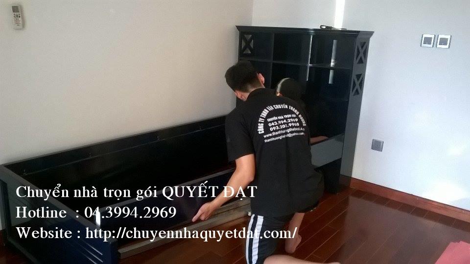 Dịch vụ chuyển nhà trọn gói Quyết Đạt tại phố Nguyễn Chánh