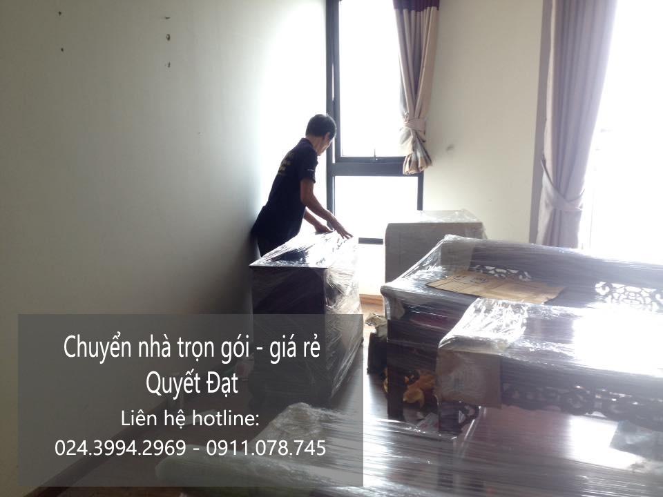 Dịch vụ chuyển nhà trọn gói tại phố Nguyễn Trung Ngạn