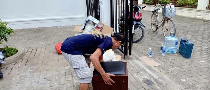 Dịch vụ chuyển nhà trọn gói tại phố Mai Động