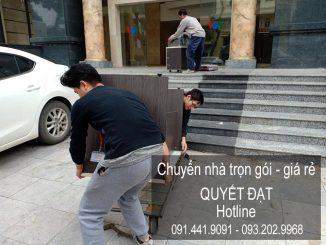 Chuyển nhà trọn gói Quyết Đạt tại phố Nguyễn Mậu Tài