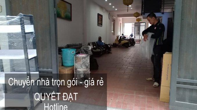 Dịch vụ chuyển nhà trọn gói tại phố Nguyễn Khắc Cần