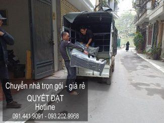 Dịch vụ chuyển nhà Quyết Đạt tại phố Phạm Văn Đồng