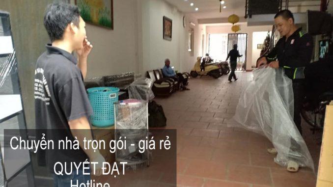 Dịch vụ chuyển nhà trọn gói Quyết Đạt tại phố Nguyễn An Ninh