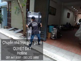 Chuyển nhà trọn gói Quyết Đạt tại phố Yên Thường