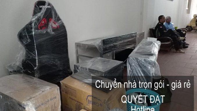 Dịch vụ chuyển nhà trọn gói tại phố Dương Hà
