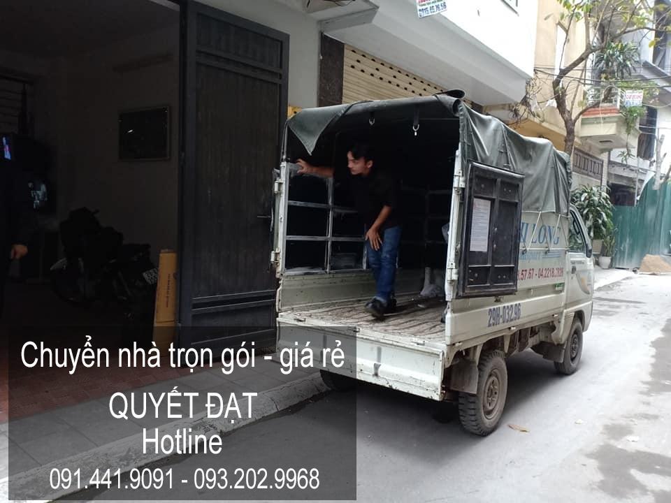 Chuyển nhà trọn gói Quyết Đạt tại phố Hàn Thuyên