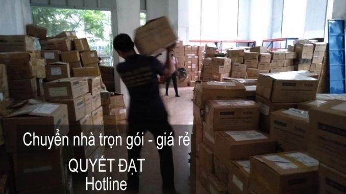 Dịch vụ chuyển nhà trọn gói Quyết Đạt tại phố Hàng Bài 2019