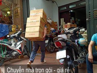 Dịch vụ chuyển nhà Quyết Đạt tại phố Xuân Phương