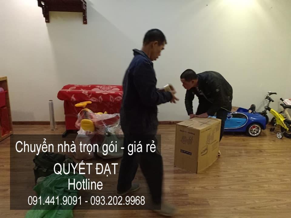 Dịch vụ chuyển nhà trọn gói tại phố Tôn Thất Phiệt
