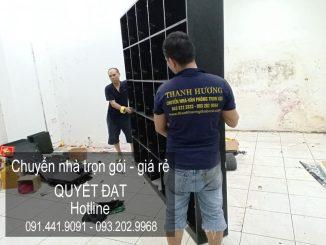 Chuyển nhà trọn gói Quyết Đạt tại phố Bà Triệu