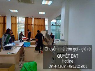 Dịch vụ chuyển nhà Quyết Đạt tại phố Tả Thanh Oai