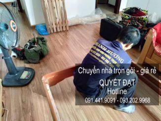 Dịch vụ chuyển nhà Quyết Đạt tại phố Nguyễn Thực