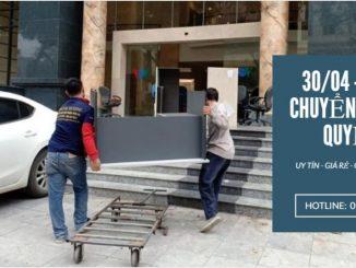 Dịch vụ chuyển nhà trọn gói Quyết Đạt tại phố Đức Thắng