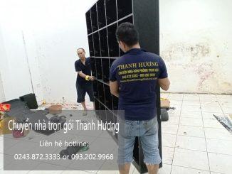 Dịch vụ chuyển nhà Quyết Đạt tại phố Phú Diễn