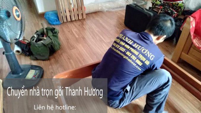 Dịch vụ chuyển nhà trọn gói Quyết Đạt tại phố Thúy Lĩnh