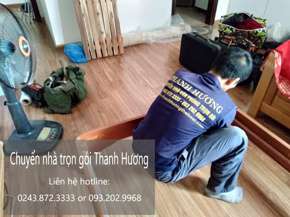 Dịch vụ chuyển nhà trọn gói Quyết Đạt tại phố Phan Bá Vành