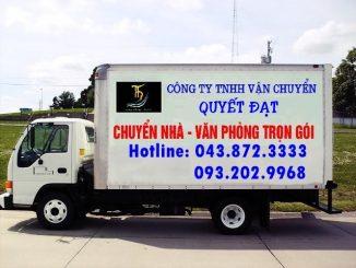 Chuyển nhà Quyết Đạt giá rẻ tại phố Huỳnh Văn Nghệ