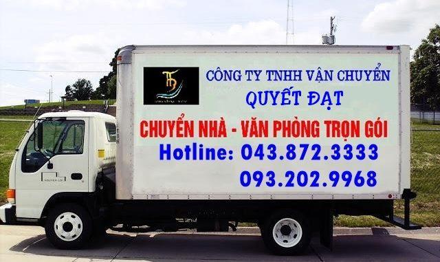 Chuyển nhà giá rẻ Quyết Đạt tại phố Cao Xuân Huy