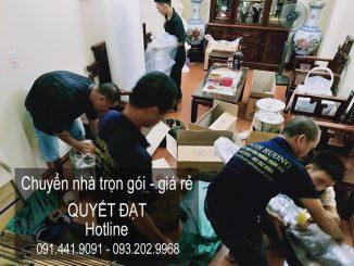 Dịch vụ chuyển nhà tại phường Trúc Bạch