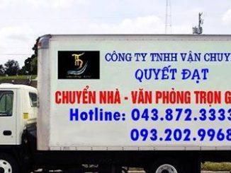 Dịch vụ chuyển nhà Quyết Đạt tại phường Tân Mai