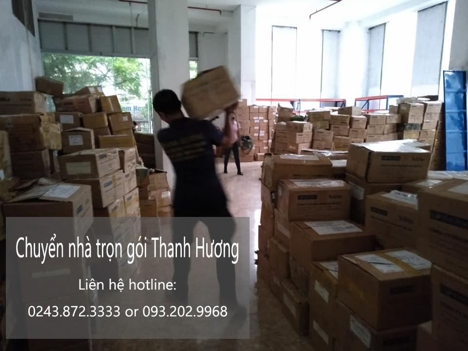 Dịch vụ chuyển nhà Quyết Đạt trọn gói tại phố Nguyễn Bình