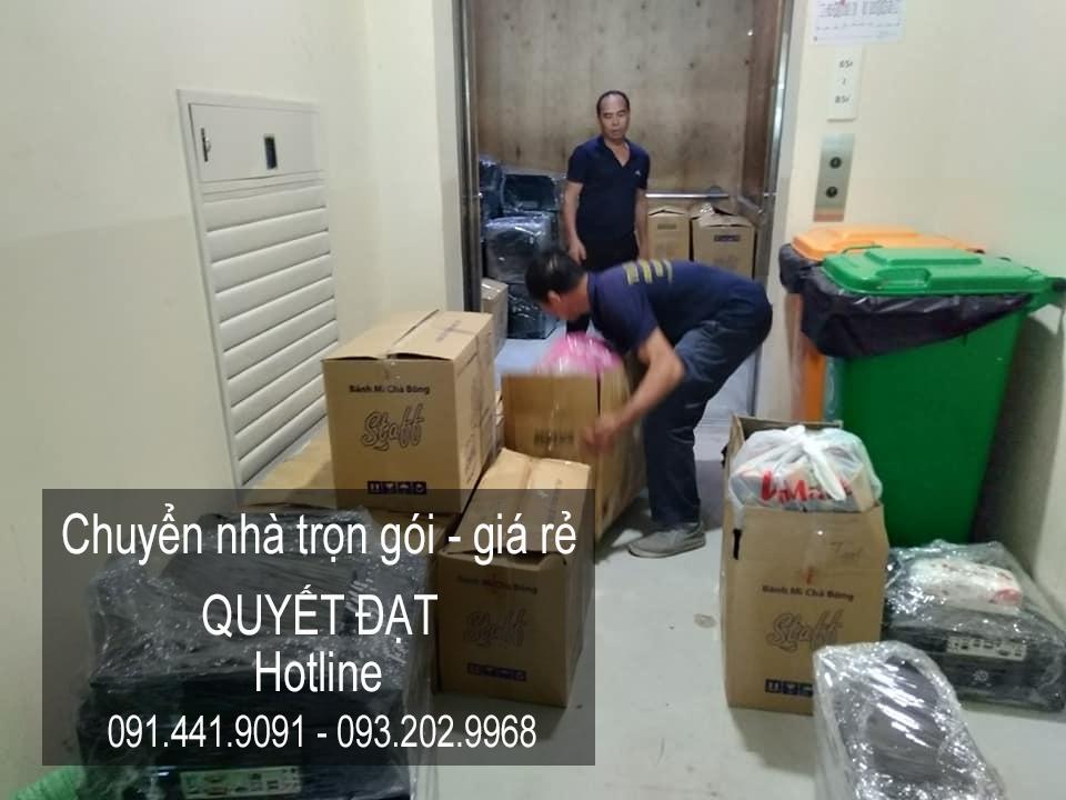 Dịch vụ chuyển nhà uy tín Quyết Đạt tại phố Dương Quang