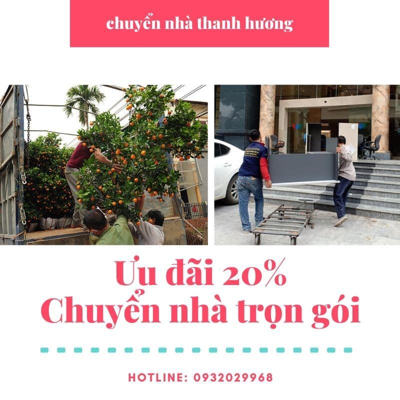 Dịch vụ chuyển nhà tại xã Vĩnh Ngọc