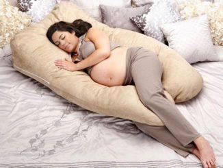 Tư thế nàm khi mang thai của bà bầu
