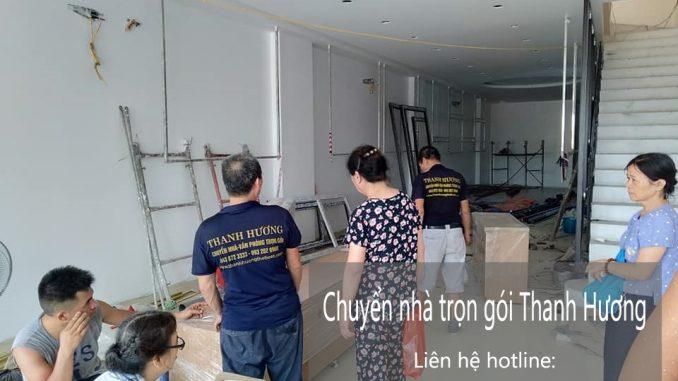Dịch vụ chuyển nhà trọn gói Quyết Đạt tại đường Thụy Khuê