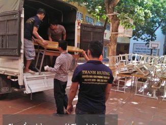Dịch vụ chuyển nhà Quyết Đạt tại đường Hoàng Minh Giám