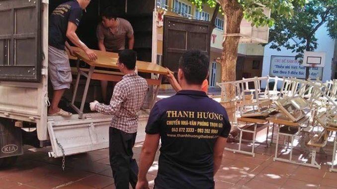 Dịch vụ chuyển nhà Quyết Đạt tại đường Trần Phú